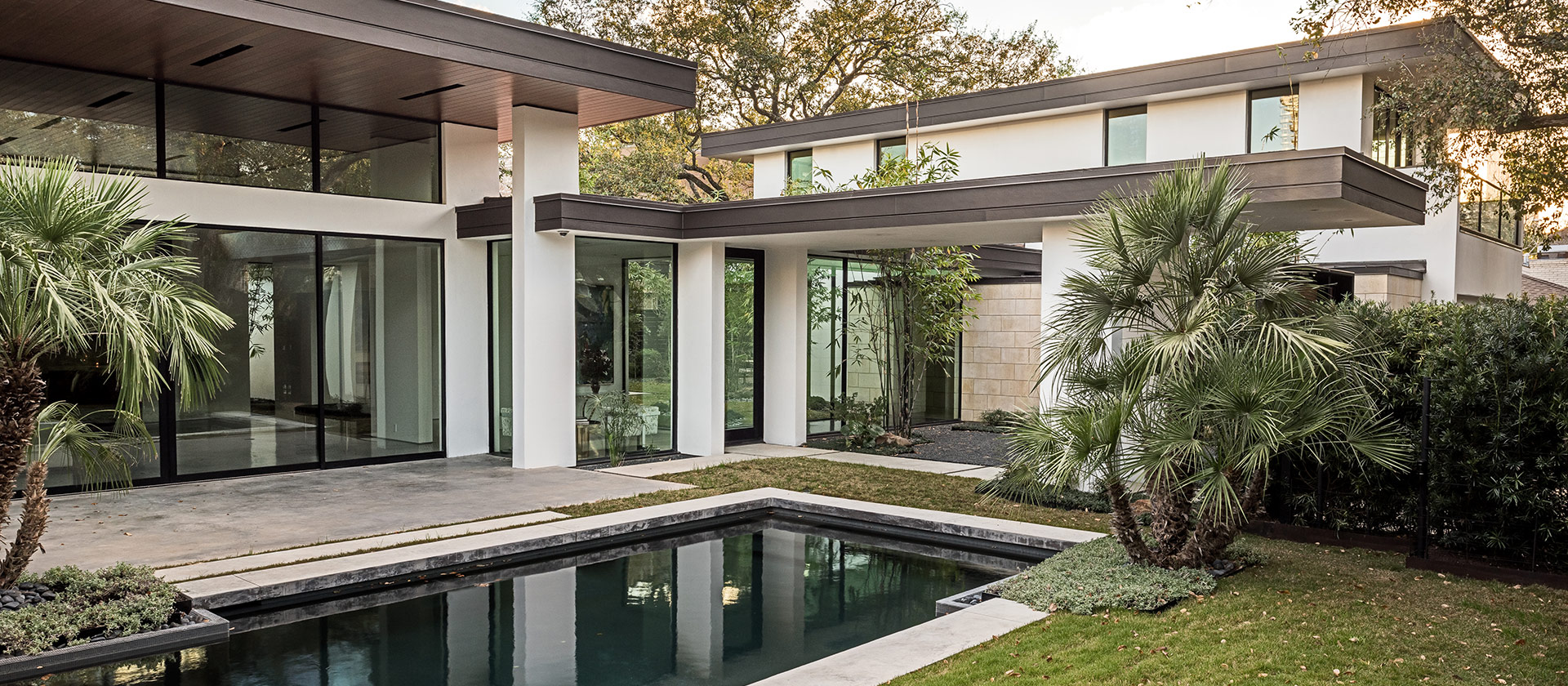 Houston Architect, Courtyard Photo